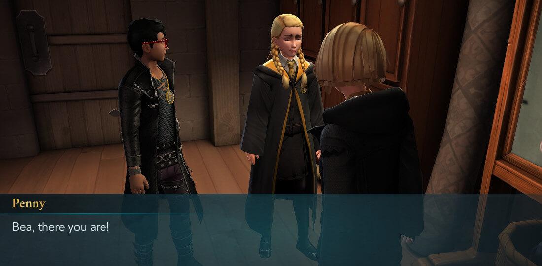 Description du mystère de Harry Potter à Poudlard, sixième année Chapitre 6