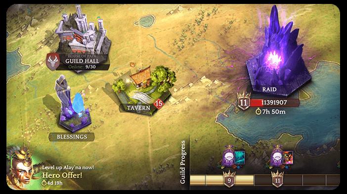 Héroïque Duel Magique de la Guilde