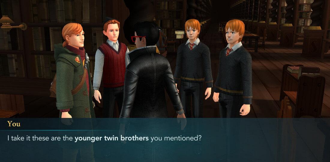 Guide de visite mystérieux de Harry Potter à Poudlard, sixième année Chapitre 3