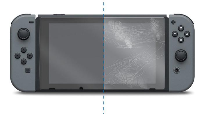 Protecteur d'écran amFilm en verre trempé switch nintendo