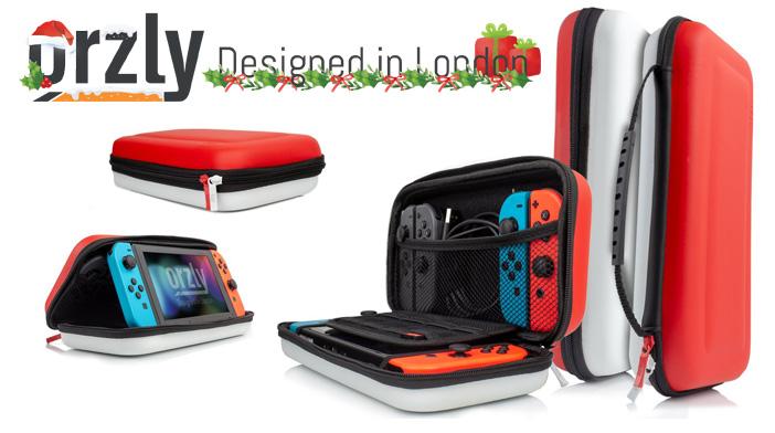 Étui de voyage Orzly Nintendo Switch
