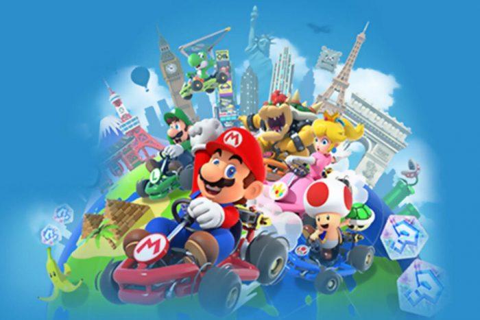 Visite de Mario Kart