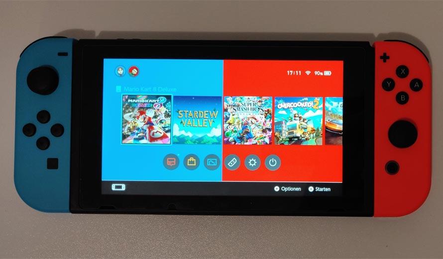 Nouveaux modèles Nintendo Switch