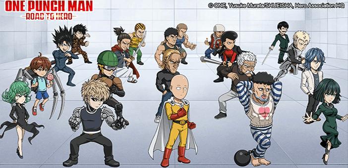 One Punch Man - Personnage du héros de la route