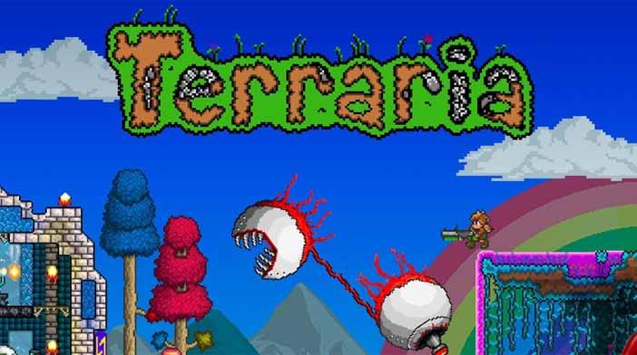 Terraria jeu