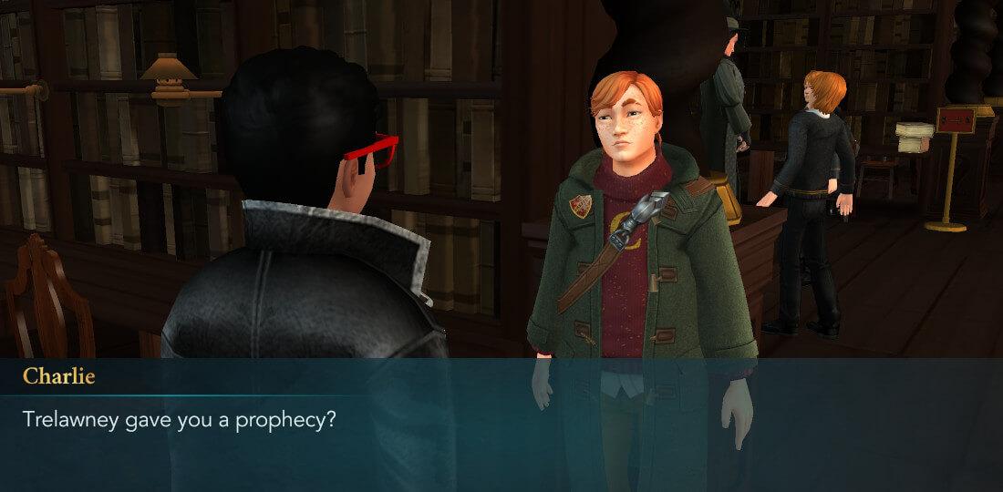 Présentation du mystère de Harry Potter à Poudlard, 6e année, chapitre 3