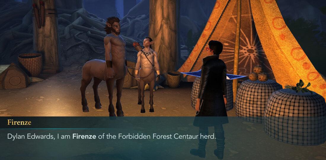Description du mystère de Harry Potter à Poudlard, sixième année Chapitre 4