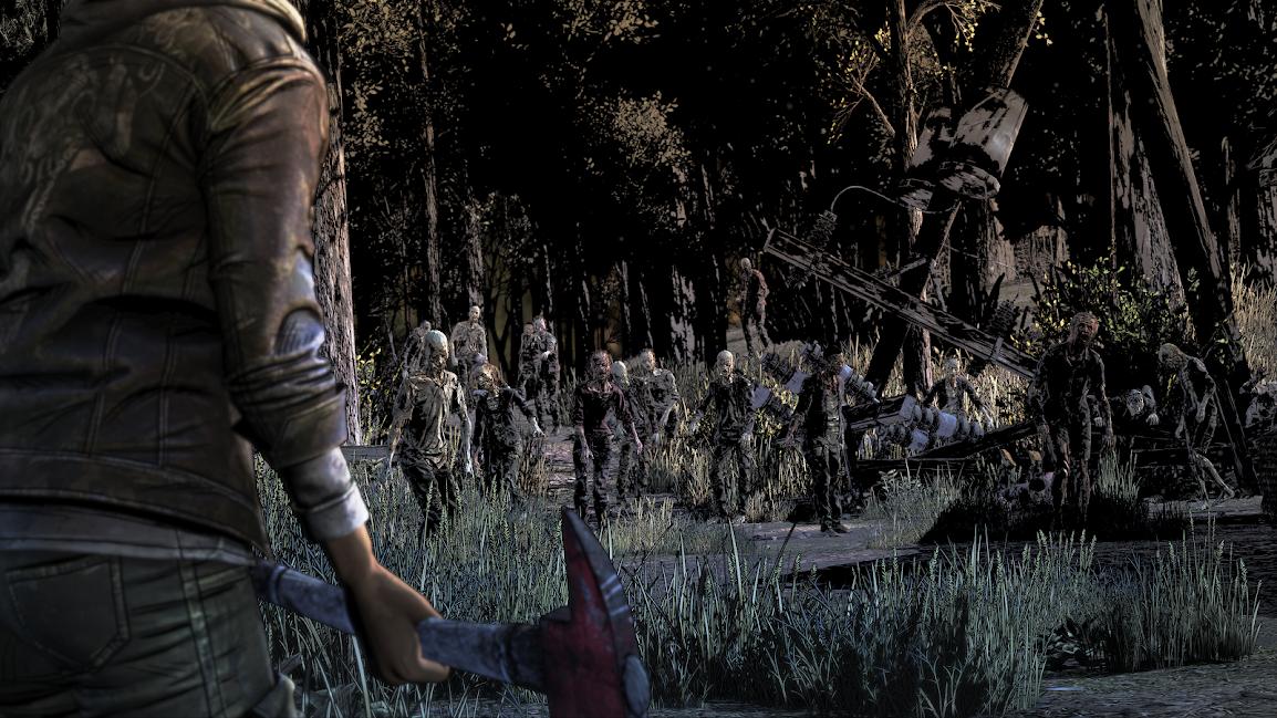 The Walking Dead La dernière saison Clementine face aux zombies