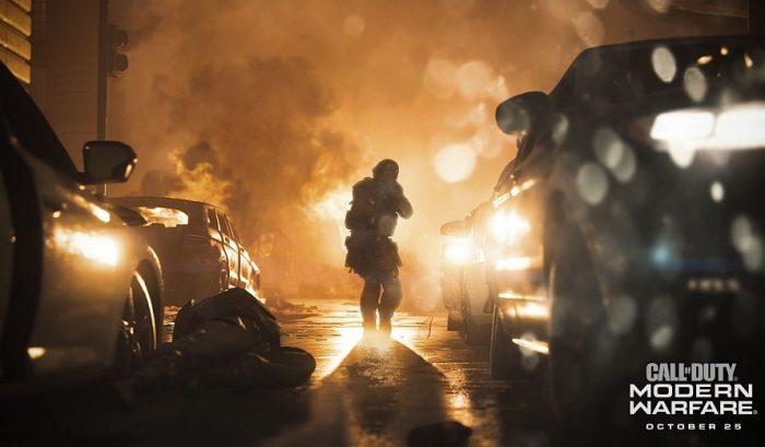 Call of Duty: Remorque de guerre moderne