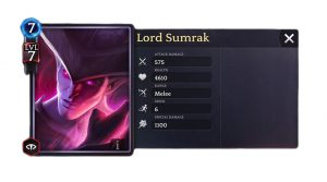 Duel magique héroïque du Seigneur Sumrak