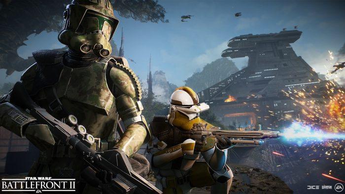 Star Wars Battlefront II - Guerre des clones
