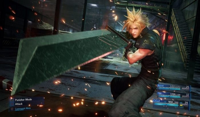 Couverture de Final Fantasy VII Remake