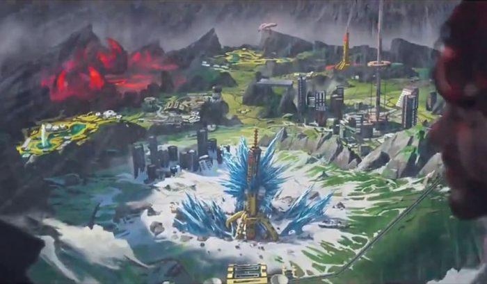 Nouvelle planète Apex Legends