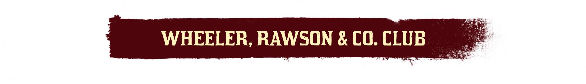 Red Dead Online Club Wheeler, Rawson & Co.