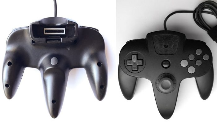Prototype de contrôleur N64