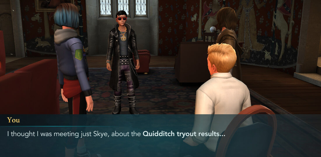 Harry Potter Poudlard Mystère Quidditch Saison 1 Chapitre 6