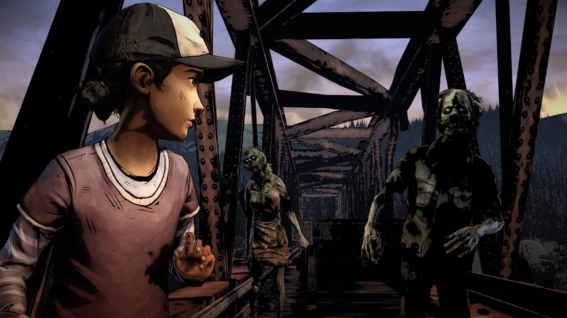 The Walking Dead Season Deux Clémentine sur le pont