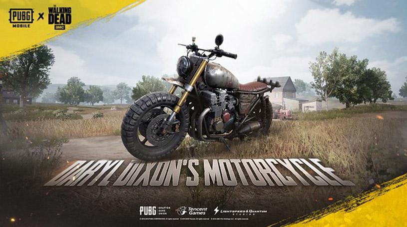 PUBG Mobile - La moto de Daryl Dixon