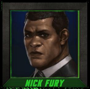 Marvel Future Fight Nick Fury - Vitesse