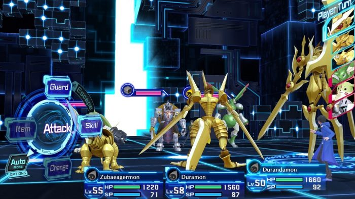 Digimon Story Mémoire Cyber ​​Sleuth Hackers top