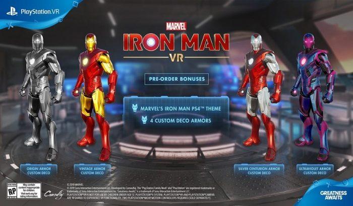 Iron Man VR Bonus de pré-commande