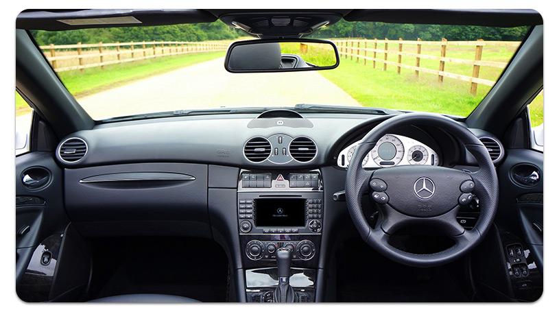 Intérieur Mercedes