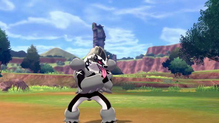 Baiser épée et bouclier Pokemon