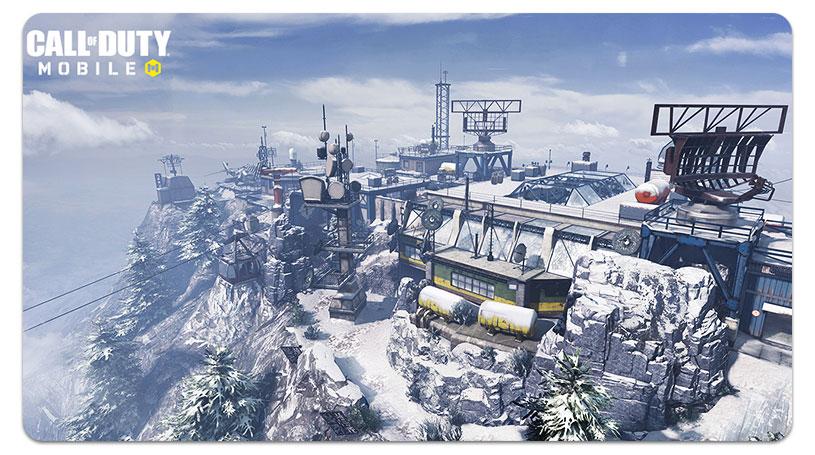 Carte du sommet de la saison 2 de Call of Duty
