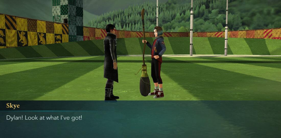 Quidditch mystère de Harry Potter à Poudlard À la recherche d'une comète, première partie