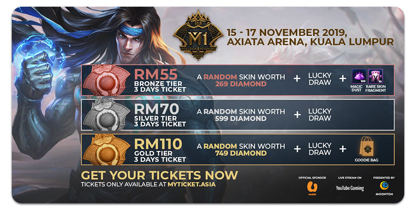 Billets Mobile Legends Bang Bang World Championship