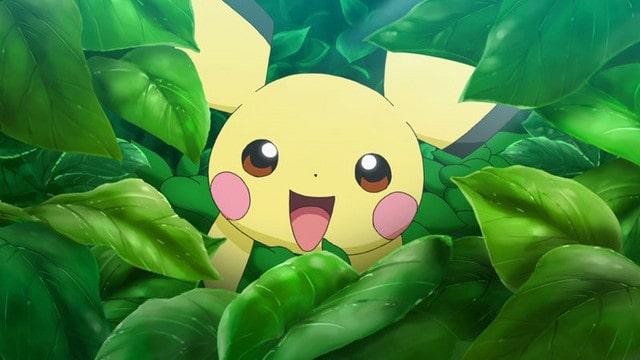 bébé pikachu - pokemon anime