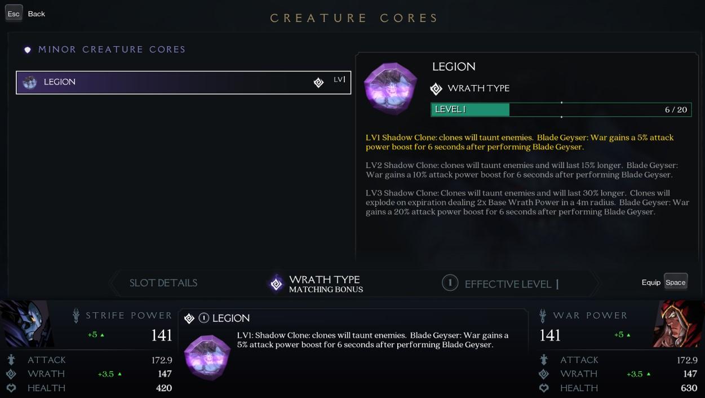 Description de la créature