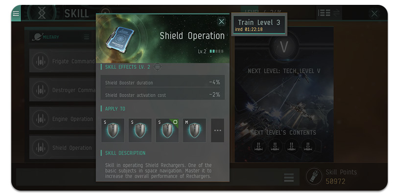 EVE Echoes Skills