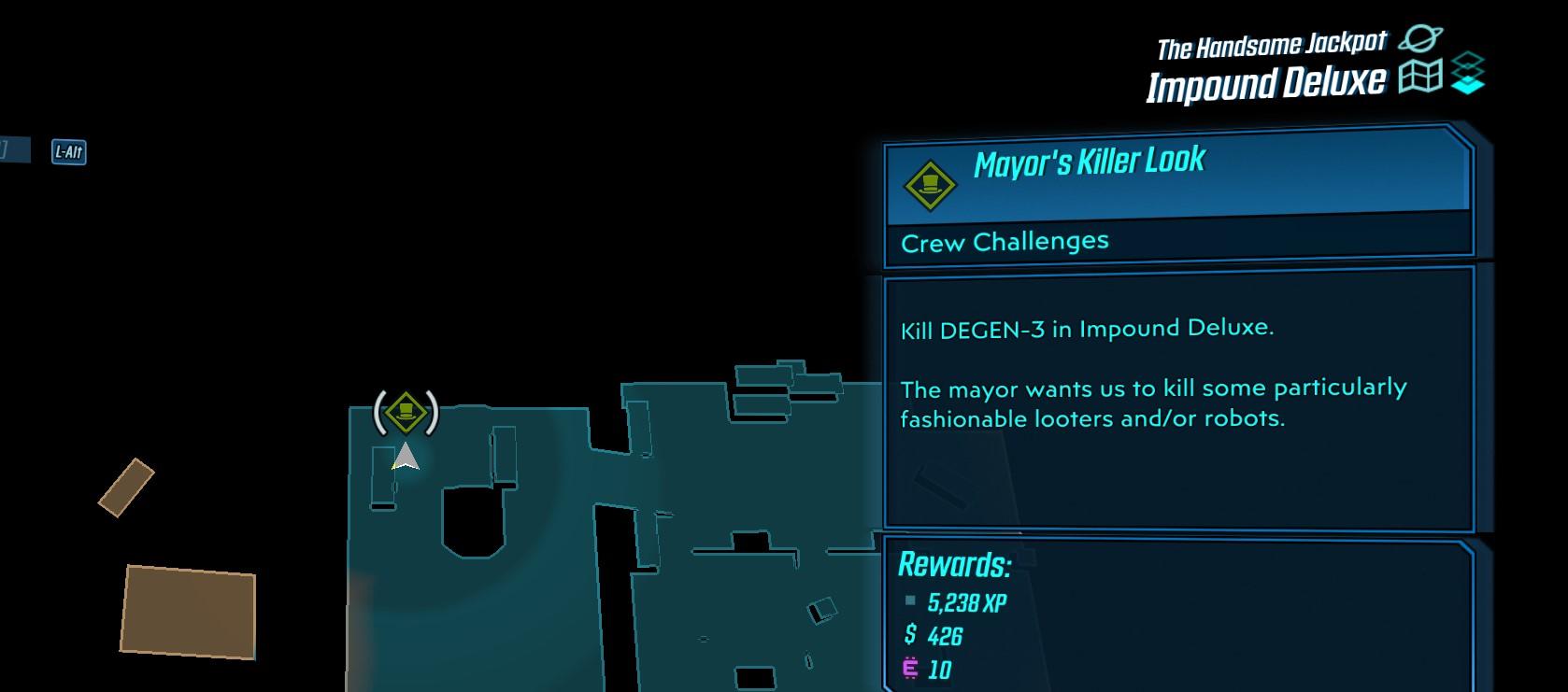 Emplacement DEGEN-3 Killer Look