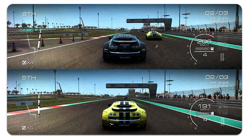 GRID Autosport Split-Screen vient de changer