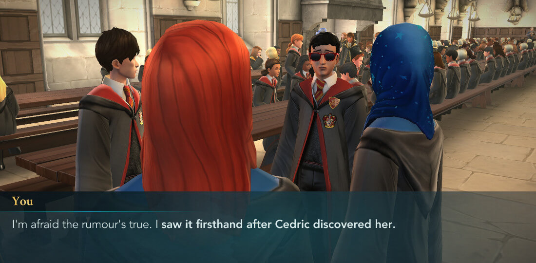 Harry Potter Poudlard Mystère Procédure pas à pas Année 6 Chapitre 15