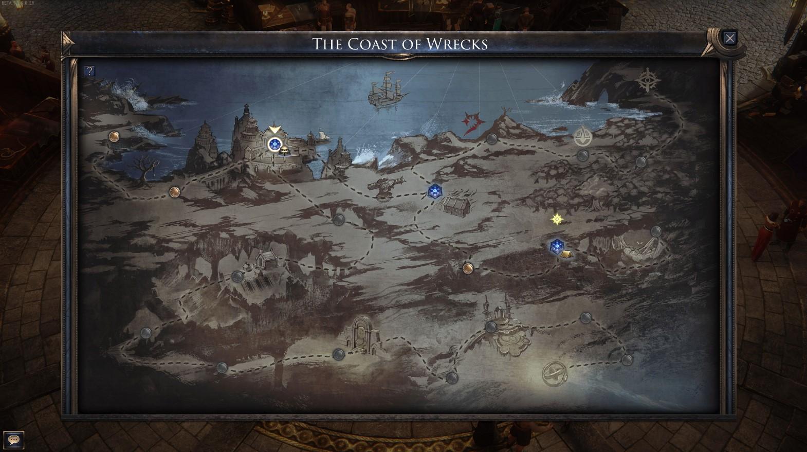 Carte de Wolcen: Lords of Mayhem