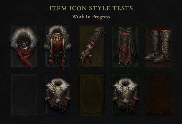 Icônes de butin Diablo 4