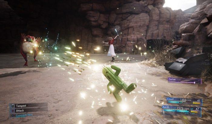 Final Fantasy VII Remake Captures d'écran