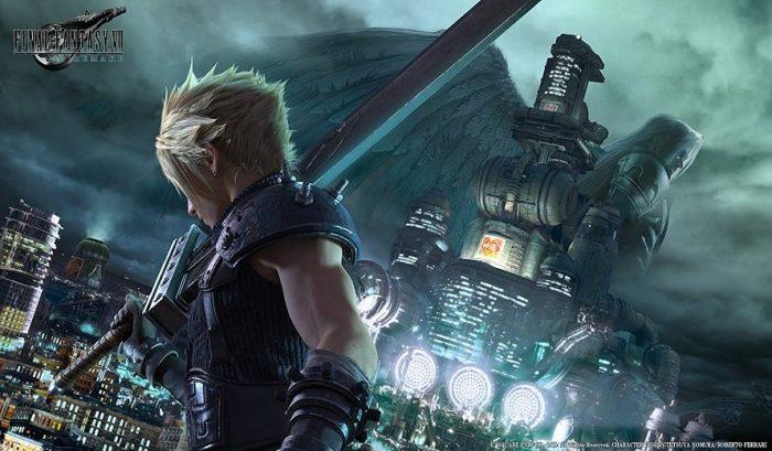 Ouverture de Final Fantasy VII Remake