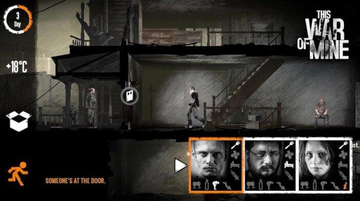 Les 10 meilleurs jeux mobiles qui fonctionnent mieux sur les tablettes This War of Mine