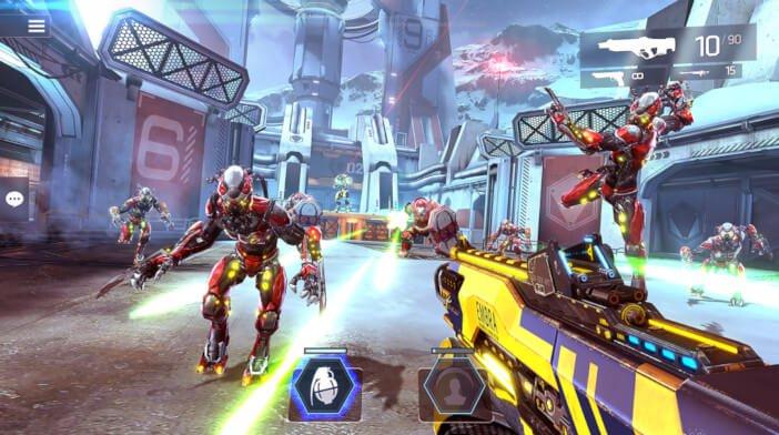 Les 10 meilleurs jeux mobiles qui fonctionnent mieux sur les tablettes Shadowgun Legends