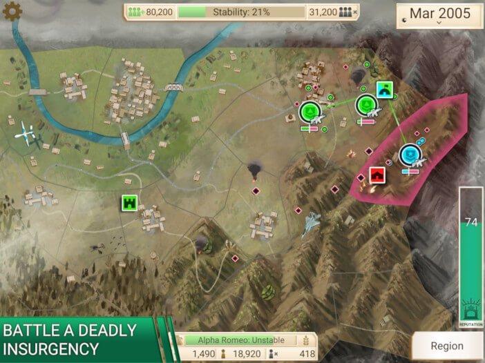 Les 10 meilleurs jeux mobiles qui fonctionnent mieux sur les tablettes Rebel Inc