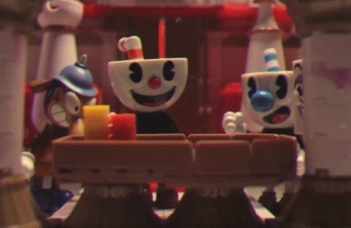 Animation stop-motion Cuphead