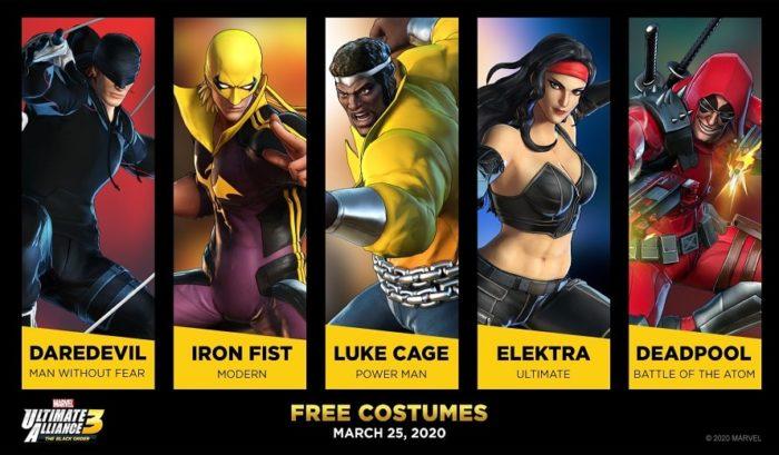 Déguisements Marvel Ultimate Alliance 3