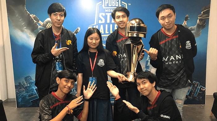 RRQ Athena a remporté le PUBG Mobile Star Challenge