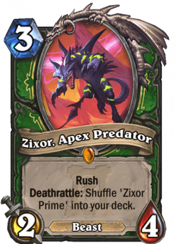 Zixor, Apex Predator