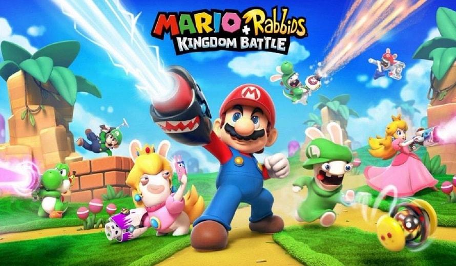 rabbid peach envahit instagram Mario + Rabbids Kingdom Battle