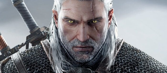 Personnages à barbe - Geralt of Riveria - Witcher Series-min