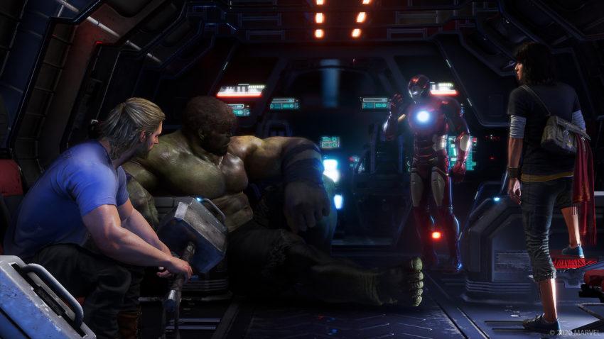 Fonctionnement de la coopérative War Zones dans Marvel's Avengers